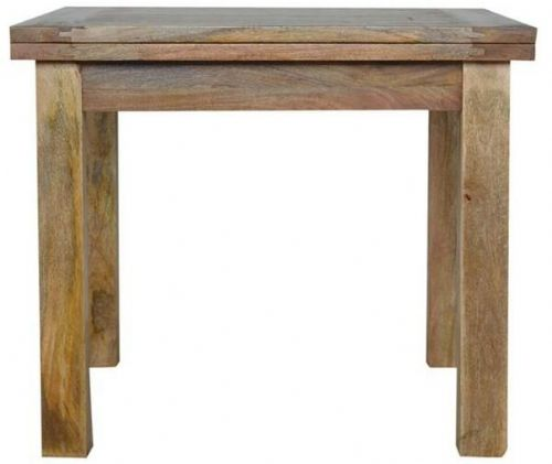 Mango Wood Extending Butterfly Dining Table